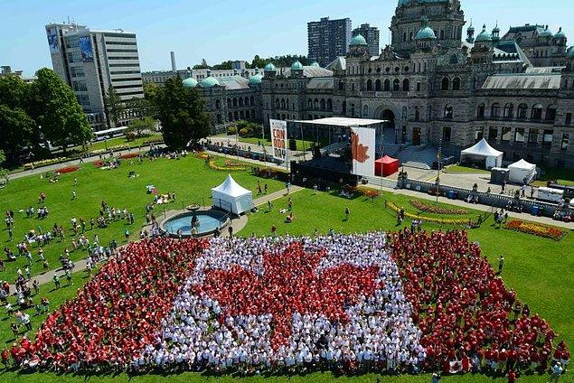 12. Hesaplamayı Kanada'yı baz alarak yaptığımızda ise: