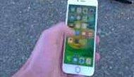 Motosikletle iPhone 6s'in Üzerinde Pati Çektiler