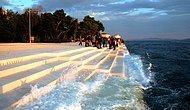 Dünyanın En Tatlı Mimari Harikası: Dalgalar Vurdukça Müziğe Dönüşen Merdivenler