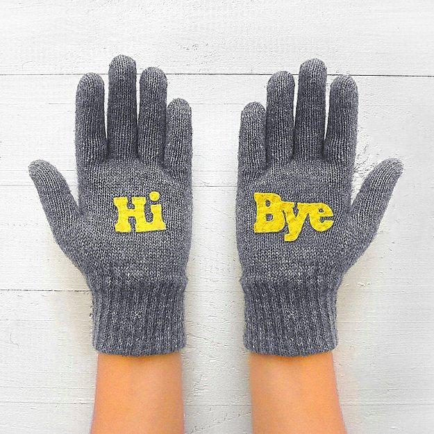 Пара перчаток, которые могут вести разговор вместо тебя.