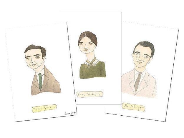 Набор открыток с самыми знаменитыми отшельниками.