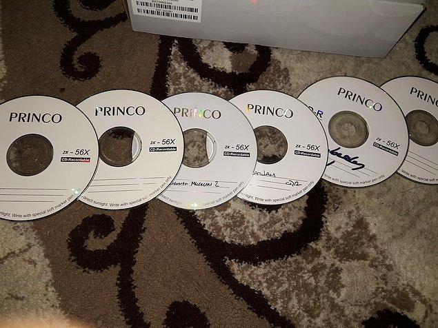 18. CD doldurup eşe dosta, sevgiliye hediye etmek.