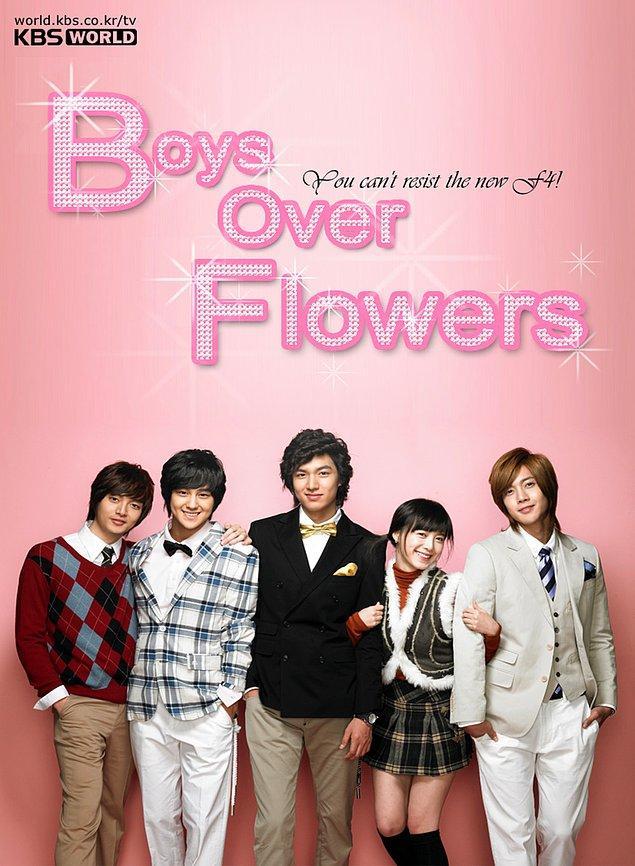 29. Boys Over Flowers (2009)   IMDB:8,4