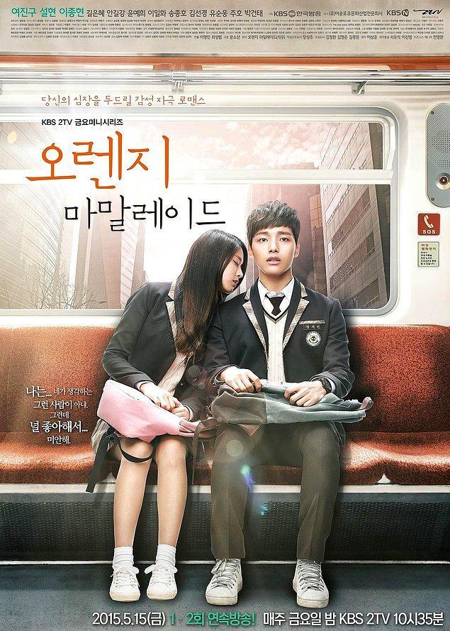 6. Orange Marmalade (2015)      IMDB:7,6