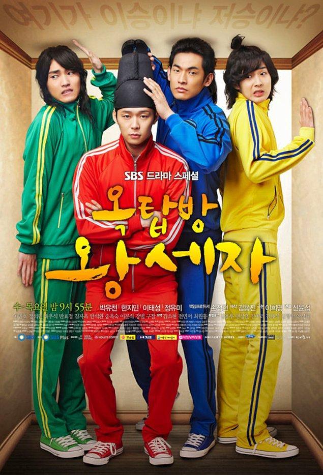 22. Rooftop Prince (2012)    IMDB:8,2