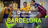 Arda Turan ve Takım Arkadaşlarının FIFA16 turnuvası