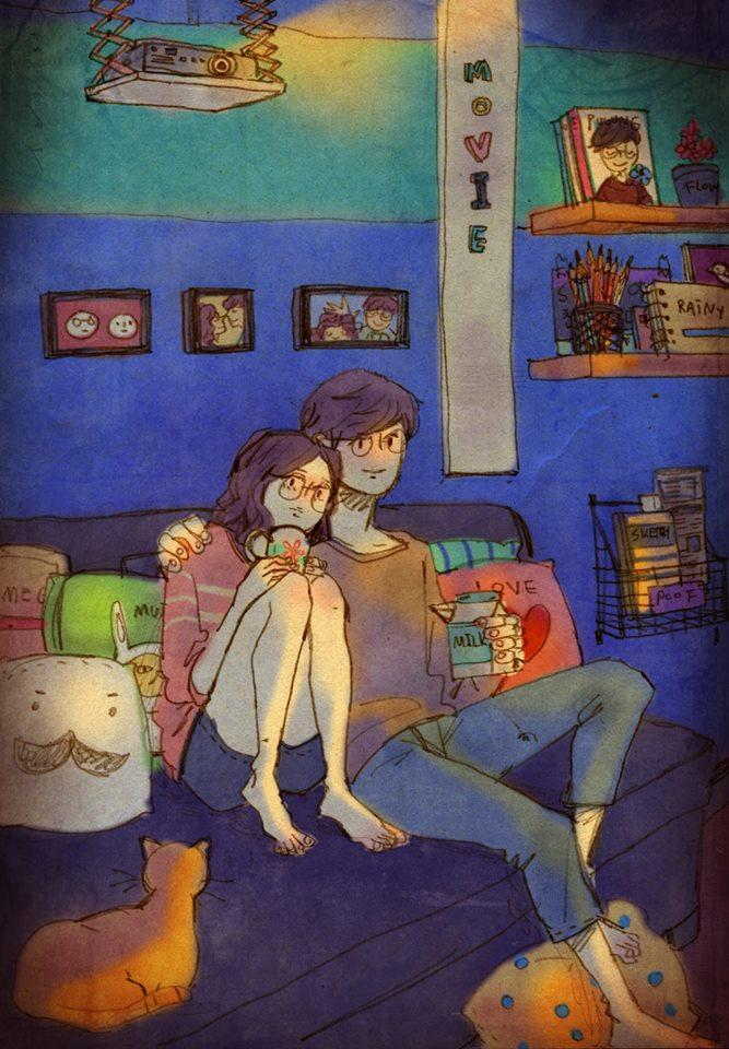 Такая любовь рисованный фильм