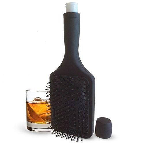 Как насчет расчески, полной алкоголя?