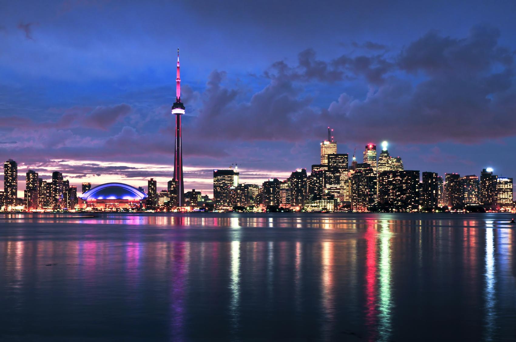 Toronto Skyline, Canada бесплатно