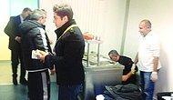 Beşiktaş'ın Soyunma Odasına Kebapçı Getirdiler