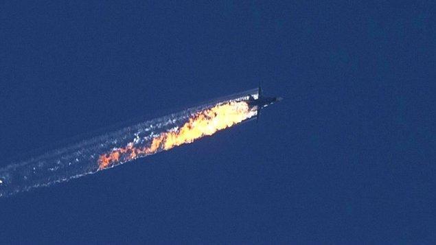 Vurulan uçak Rusya'nınmış! ABD savaşı kaybetti!