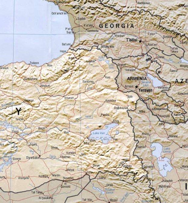 İran, Ermenistan ve Gürcistan bize toprak verecek ve doğu sınırlarımız girintili çıkıntılı değil, dümdüz olacak!