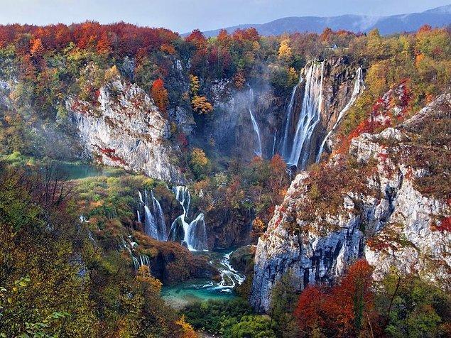 13. Plitvice Gölleri Ulusal Parkı, Hırvatistan