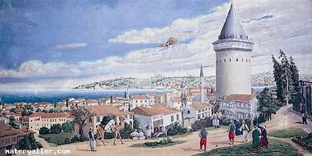 14. Hezarfen Ahmet Çelebi (1609-1640)
