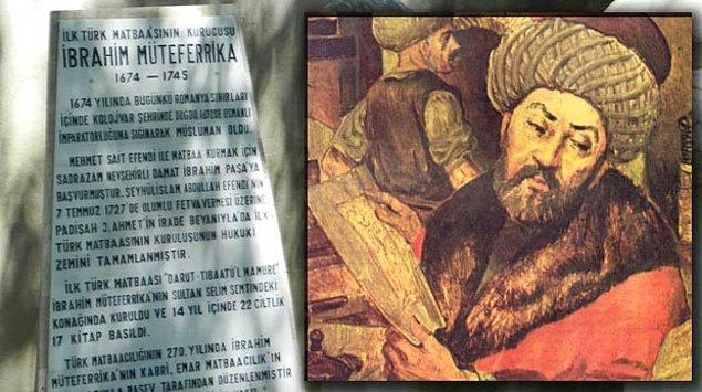 15. İbrahim Müteferrika (1674-1745)