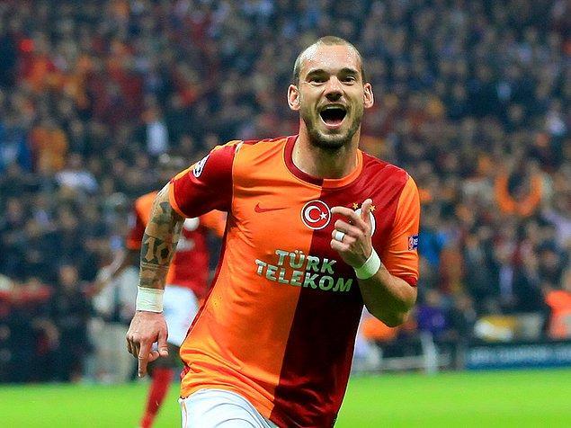 2. Wesley Sneijder