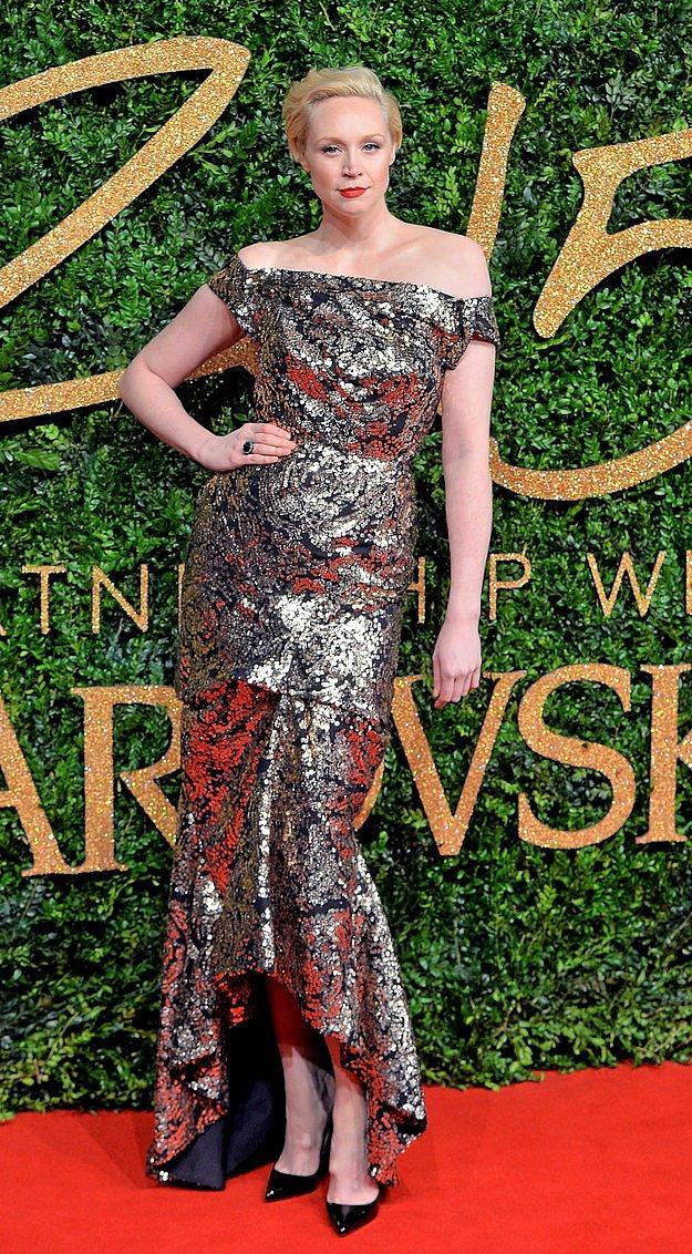 И на British Fashion Awards.