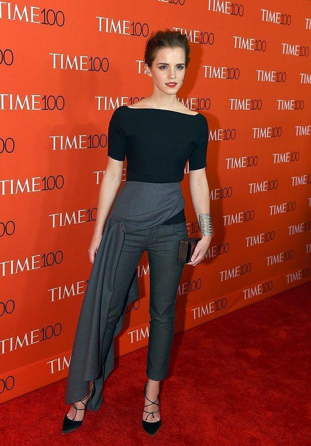 Эмма Уотсон на Time 100 Gala.