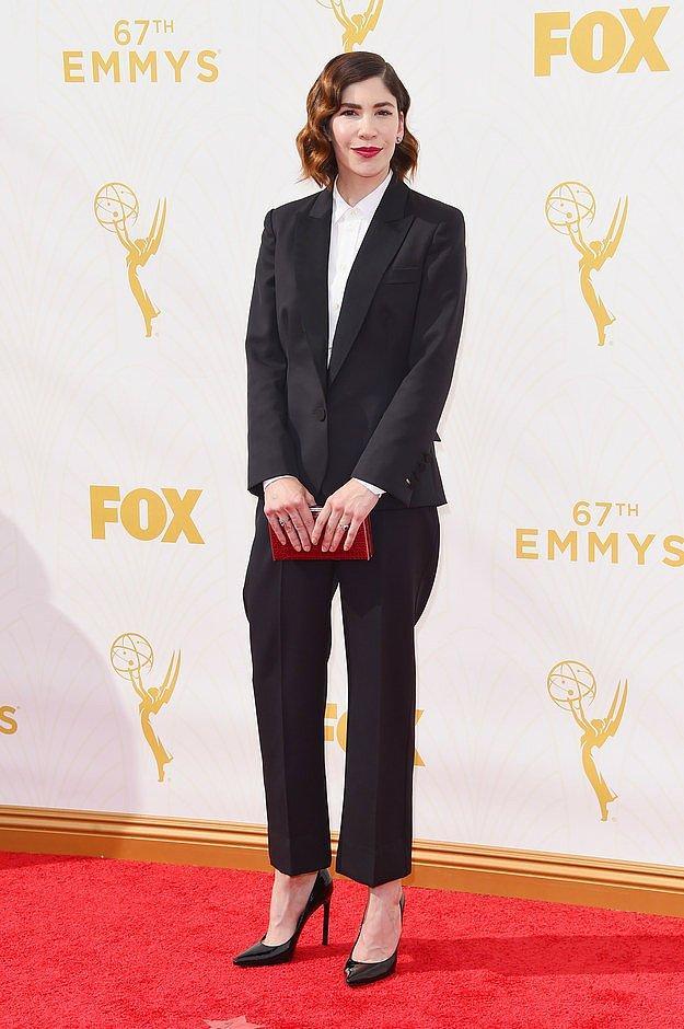 Кэрри Браунстин на премии «Эмми».