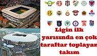 Ligin İlk Yarısında Stadına En Çok Taraftar Çeken Takım: Fenerbahçe
