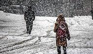 En Az 33 İlde Okullara Kar Tatili