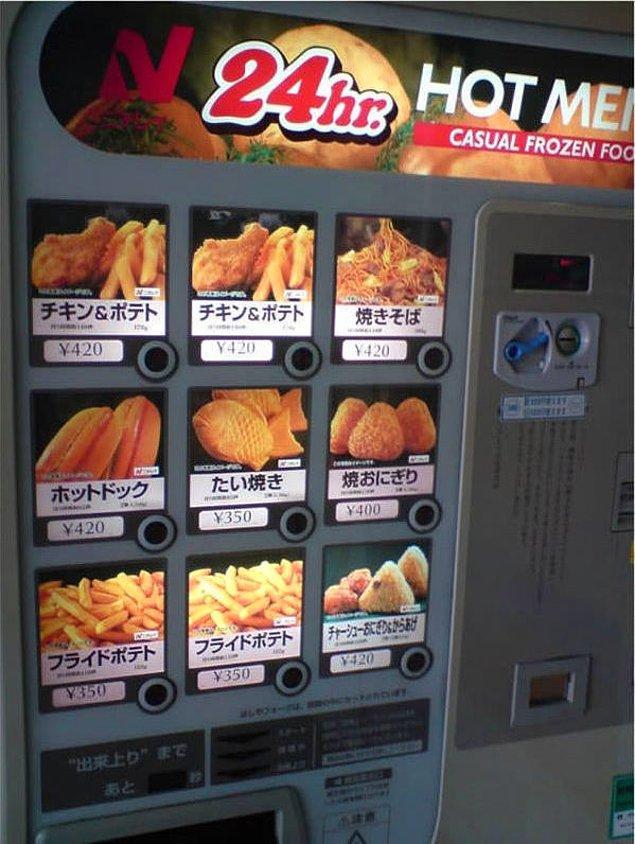 18. Örneğin fast-food...