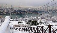 Meteorologlar Şaşkın İstanbul'da Kar Süprizi