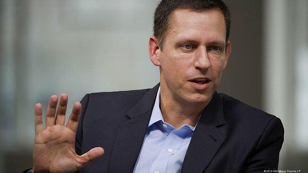 16. Peter Thiel