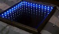 Sonsuz Görünümlü Aşırı Şık LED Işıklı Ayna Nasıl Yapılır?