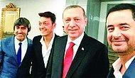 Mesut Özil'den Cumhurbaşkanı Erdoğan'a Ziyaret