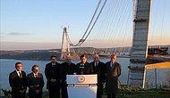 Davutoğlu: 3. Köprü Bu Yaz Açılacak