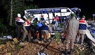 Balıkesir'de Sığınmacıları Taşıyan Otobüs Devrildi: 8 Ölü, 42 Yaralı