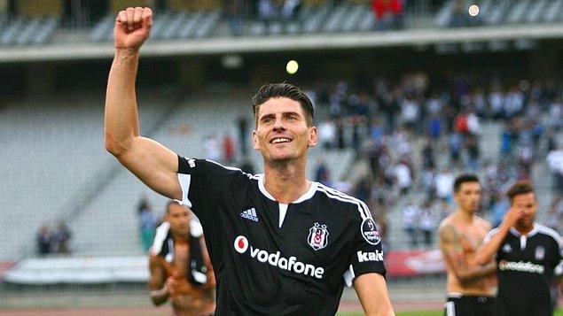 Beşiktaş'ta Yabancıları Mario Gomez Taşıdı