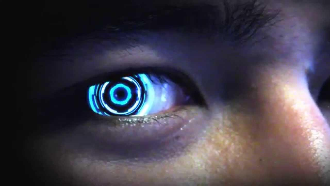 Cyborg eye contacts