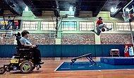 Engelli Çocuğun Basketbol Oynama Hayalini Gerçekleştiren Adamlar