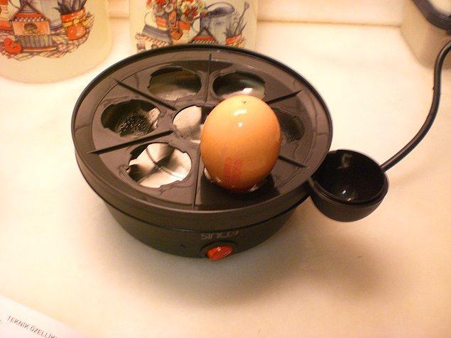 8. Bir zamanların favori ev hediyesi: Yumurta pişirici