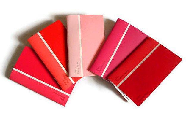 4. Kocaman sayfaları olan renk skalanız varsa size süper bir defter yaratabiliriz.