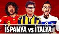Bir İspanyol Bir İtalyan Futbol Konuşursa