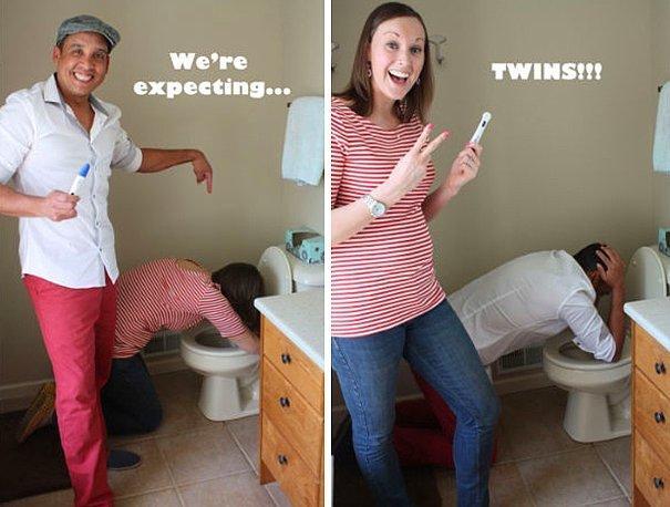 Мы ждем ребенка.. точнее двойню.