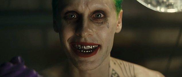 5. Jared Leto, 5 Ağustos'da vizyona girecek olan ve merakla beklenen Suicide Squad filminde Joker'i canlandıracak.