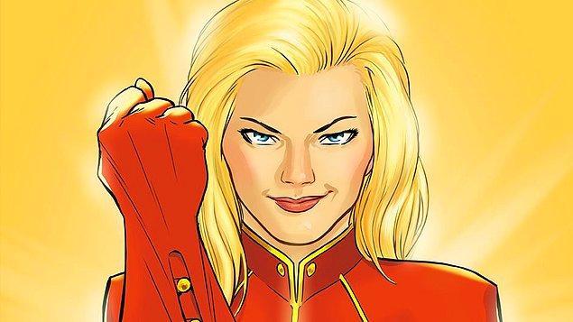 18. 2019 Mart ayında vizyona girecek olan Captain Marvel'da hangi aktrisin oynayacağı henüz belli değil.