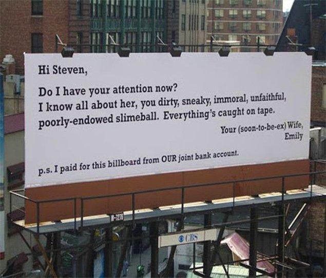 Стивен, тебе послание...