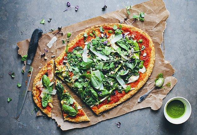 10. Ya da en güzel lezzet pizza ile birleştirsek?