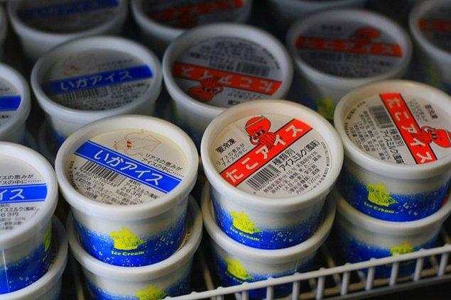 3. Ahtapot ve kalamar aromalı dondurmalara kadar her şey yolundaydı bizce...