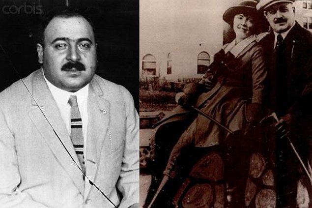 7. Chicago Outfit lideri Jim Colosimo(altta) öldürülünce başa Torrio geçti.