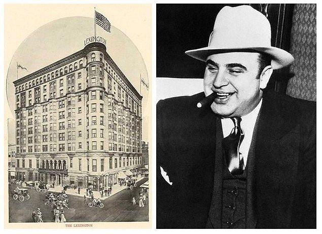 9. Hukuksal ve politik gücünü arttıran Capone, merkezini Chicago'da bulunan Lexington Hotel'e taşıdı, Sevgililer Günü Katliamı sonrasında burası Capone'un Kalesi olarak anılmaya başlandı.