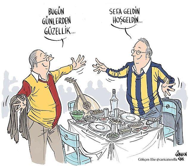 18. Bugün günlerden güzellik... / Galatasaray - Fenerbahçe