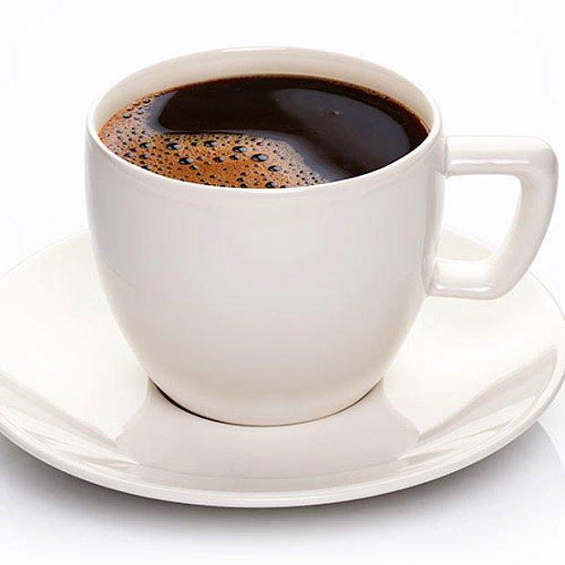 Kahve. Sade.