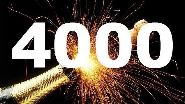 2. Her yıl yaklaşık olarak 4000 kelime İngilizce sözlüğüne eklenir.