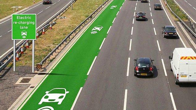 В Великобритании прошли испытания дороги заряжающей электромобили